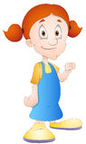 Teen Girl - Cartoon Character - Vector Illustration Royalty Free Stock Photo