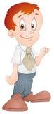 Salesman - Cartoon Character - Vector Illustration Stock Photo