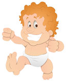 Baby - Cartoon Character - Vector Illustration Stock Photo