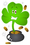 Clover Leaf - St. Patrick's Day - Vector Illustration Royalty Free Stock Photography