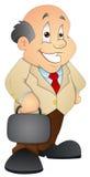 Businessman - Cartoon Character - Vector Illustration Stock Photography