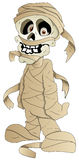 Cartoon Mummy - Vector Illustration Stock Image