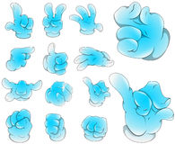 Hand Expressions Royalty Free Stock Photo