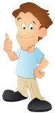Man - Cartoon Character - Vector Illustration Royalty Free Stock Photos