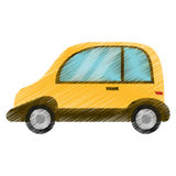 Drawing automobile vehicle image Royalty Free Stock Photos
