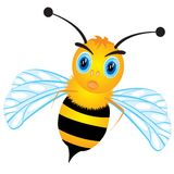 Drawing of the bee Royalty Free Stock Images