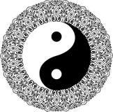Yin yang decorative symbol Royalty Free Stock Image