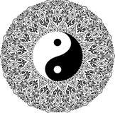 Yin yang decorative symbol Stock Photos