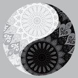 Yin yang decorative symbol Royalty Free Stock Photos
