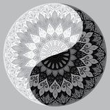 Yin yang decorative symbol Royalty Free Stock Photography