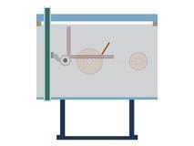 Drawing board Stock Image