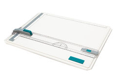 Drawing board. On a white background Royalty Free Stock Images