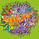 Drawing bright colors Holi abstraction Royalty Free Stock Photo