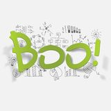Drawing business formulas. boo Stock Images