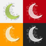Drawing business formulas. moon Stock Images