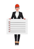 Drawing checklist Royalty Free Stock Images