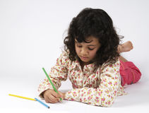 Drawing Child Stock Photography