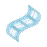 Drawing cinema film strip tape. Illustration eps 10 Stock Photos