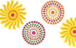 Drawing circles Royalty Free Stock Photo