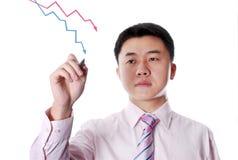 Drawing diagram Stock Photos