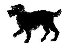 Drawing dog Stock Image