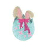 drawing easter egg surprise bunny Stock Images