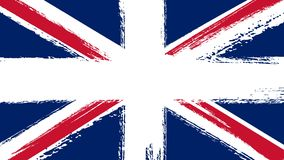 Drawing of flag of Great Britain