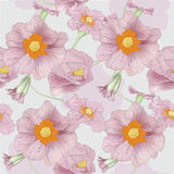 Drawing flower spring. This is illustration of flower pattern Stock Photos