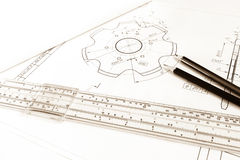 Drawing gear Stock Images