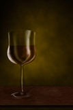 Drawing glass of wine Royalty Free Stock Photos
