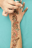 Drawing Henna Stock Images