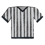 Drawing jersey referee american football Stock Photos