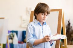 Drawing lesson Royalty Free Stock Photo