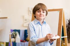 Drawing lesson Royalty Free Stock Image