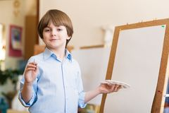 Drawing lesson Royalty Free Stock Images