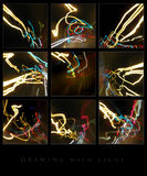 Drawing with light Stock Photography