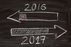 Drawing loading of 2017 Stock Photography