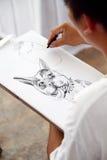 Drawing Royalty Free Stock Photos