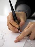 Drawing mangas Royalty Free Stock Image
