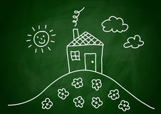 Free Drawing Of House Stock Photography - 23455512
