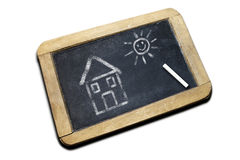 Free Drawing On A Blackboard Stock Image - 5927121