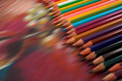 Drawing and pencils Royalty Free Stock Photography