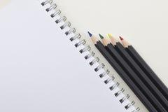 Drawing pencils Stock Photos