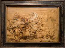Peter Paul Rubens, A lion Hunt Stock Images