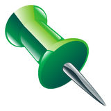 Drawing or push pin icon Royalty Free Stock Image