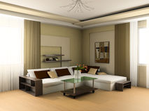 Drawing room Royalty Free Stock Images
