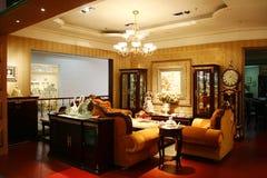 Drawing room. ,sofa,light,chinese Stock Photo