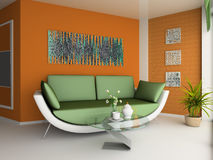 Drawing room Stock Photography