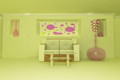 Drawing room. Royalty Free Stock Photos