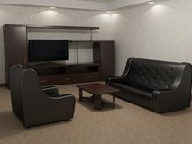 Drawing room Royalty Free Stock Photo